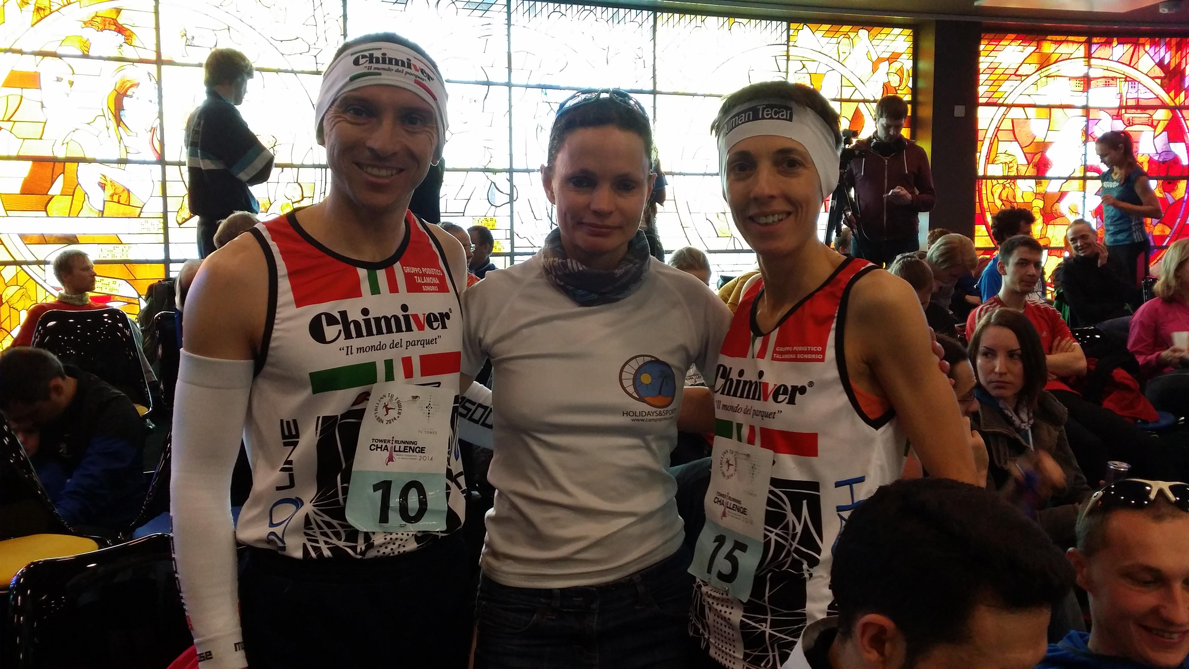 Fracassi Dario, Cristina Bonacina (ITA) ning Kärt Radik (EST)