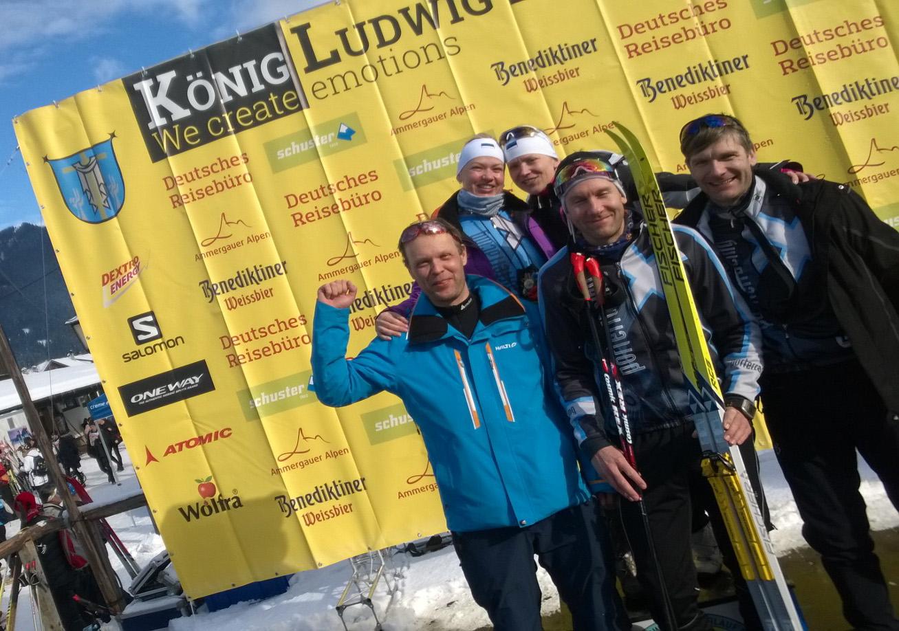 PR hit Jackpot - vaba ja klassika maratonid tehtud ideaalsetes lumeoludes